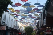 Umbrella street! Almost threw a tantrum to get here.