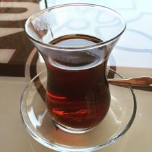 I had gazillion cups of the Turkish Tea...